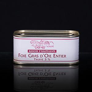 Foie gras d'oie entier truffé 130 g
